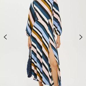 Beautiful Midi multi-stripe dress